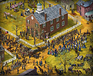 Fairfax Courthouse, Enlistment of 17th Virginia Infantry