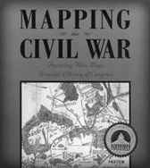 Mapping the Civil War, featuring rare maps from the Library of Congress, including the position of Schaeffer's Battalion Infantry