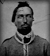 Private A Rives, Company C, 38th Virginia Infantry, circa 1861